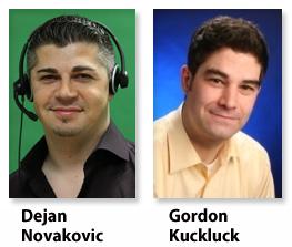 Dejan Novakovic & Gordon Kuckluck