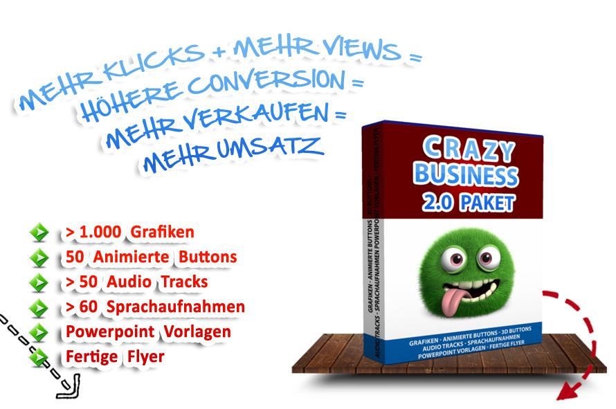 Crazy Business Grafik-Paket
