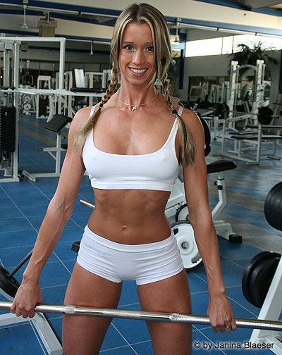 Janina Blaeser, Fitnessweltmeisterin