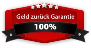 100 Prozent Geld-zurück-Garantie