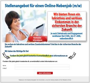 online-nebenjob