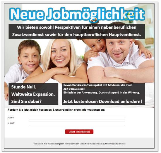 Landingpage_Neue-Jobmöglichkeit_MLM_LeadMotor