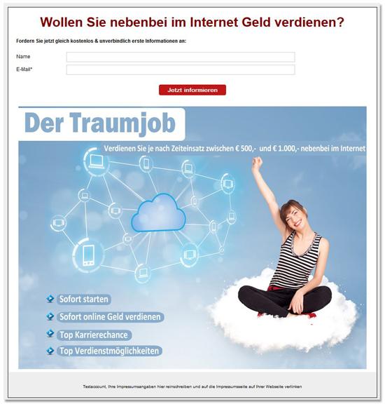 Network-Marketer_MLM_Traumhob_Landingpage_leadmotor
