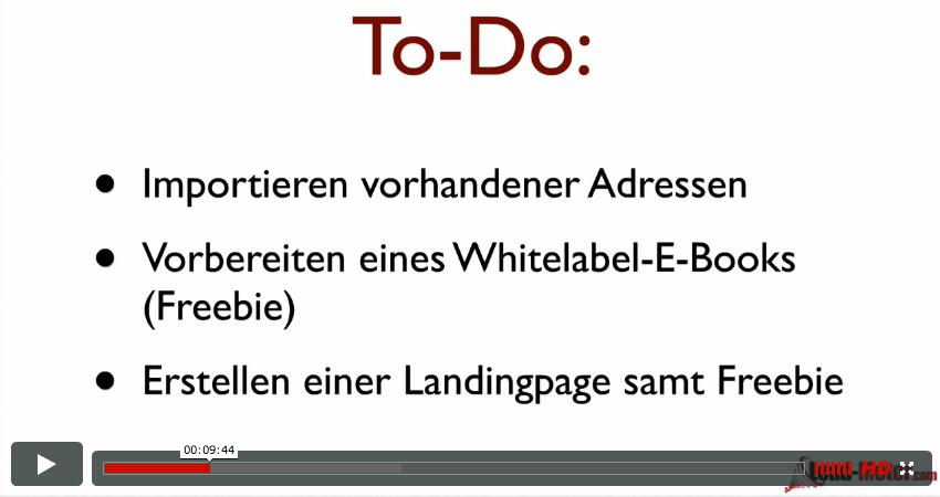 Schritt-für-Schritt Video-Anleitungen