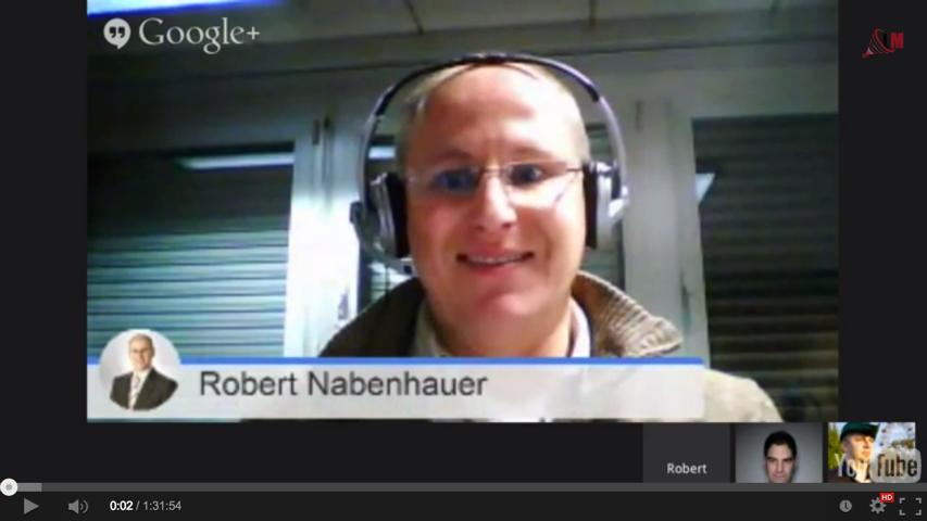 Robert Nabenhauer Hangout