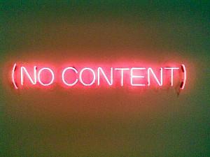No Content - flickr / Chris Dlugosz